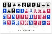 screen print, red & blue series, 2008